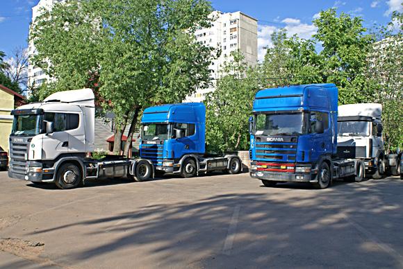 Распродажа тягачей Scania